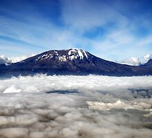 Kilimanjaro - above the clouds by mojgan