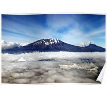 Kilimanjaro - above the clouds Poster
