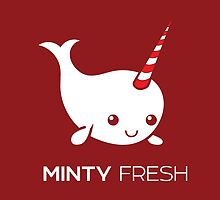 Minty Fresh Baby Narwhal by PepomintNarwhal