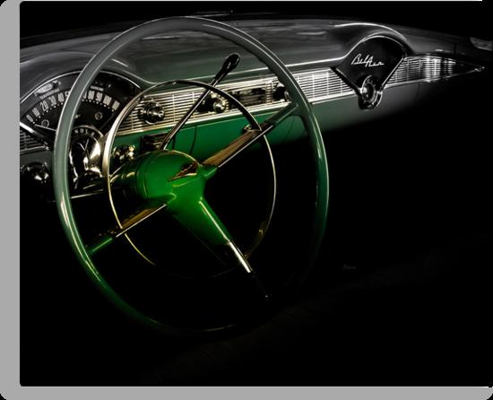 1956 Green Hornet Chevy Belair by ArtbyDigman