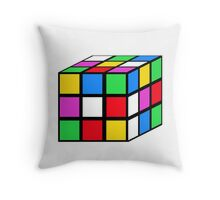 rubik - the cube Throw Pillow