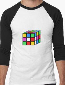 rubik - the cube Men's Baseball ¾ T-Shirt