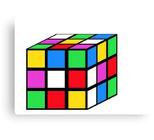 rubik - the cube Canvas Print
