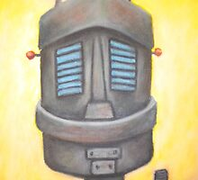 Robot portrait  by joshj