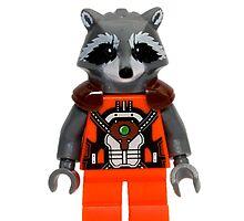 LEGO Rocket Raccoon by jenni460