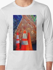 Only Semi-Plastered...Hic Long Sleeve T-Shirt