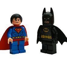 LEGO Superman & Batman by jenni460