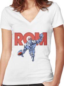 Rom Women's Fitted V-Neck T-Shirt