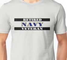Retired Navy Veteran Unisex T-Shirt