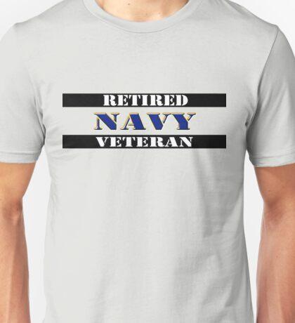 Retired Navy Veteran Unisex T-Shirt