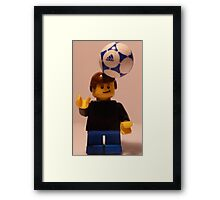 On Me Head Son Framed Print