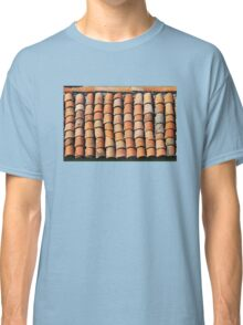 Vintage Roof in Southern France Classic T-Shirt