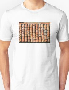 Vintage Roof in Southern France T-Shirt