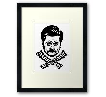 Jolly Swanson Framed Print