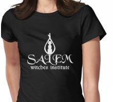 Salem Witches Institute Dark Version Womens Fitted T-Shirt