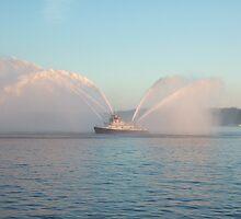 Seattle Fire Boat by Chris Paul