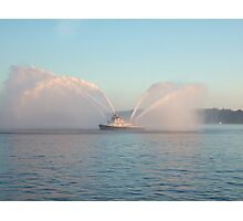 Seattle Fire Boat Photographic Print