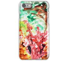 Let's Call It Abstract Leaves iPhone Case/Skin