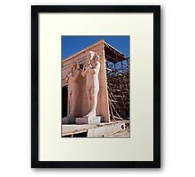 Egypt: The awful truth Framed Print