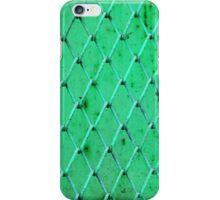 Turquoise Vintage Iron Net iPhone Case/Skin