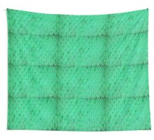 Turquoise Vintage Iron Net Wall Tapestry