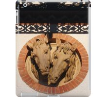 Two Horses In The Wall iPad Case/Skin