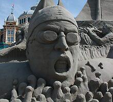 Sand Sculpture by Moonen