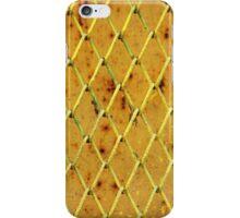 Background of vintage iron net iPhone Case/Skin