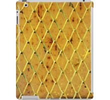 Background of vintage iron net iPad Case/Skin