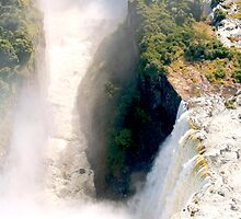 The Chasm of Victoria Falls by Braedene