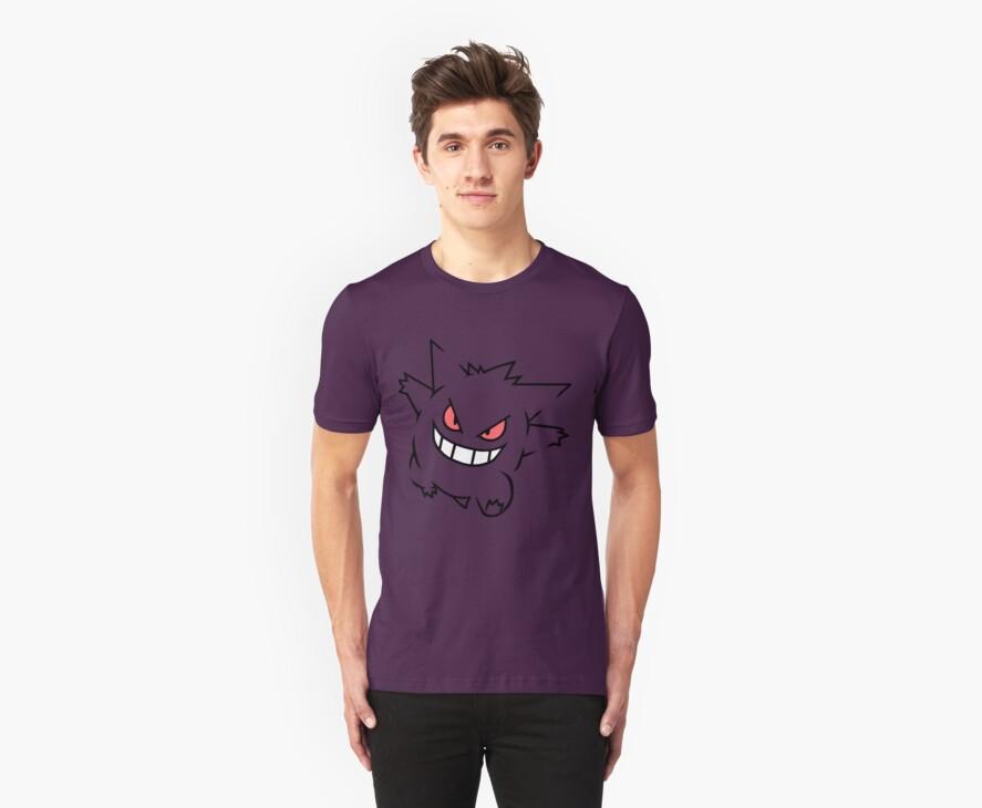 Gengar - Pokemon by dreamlandart