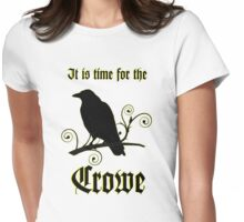 Time4TheCrowe Womens Fitted T-Shirt