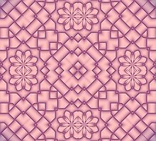 Pink and Magenta Tracery by Lena127