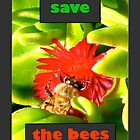 Save The Bees (vertical) by okmondo
