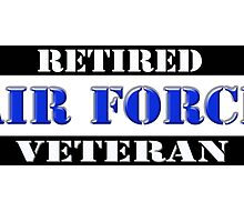 Retired Air Force Veteran by Buckwhite