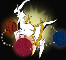 Arceus - The Great Creator by PokemasterShay