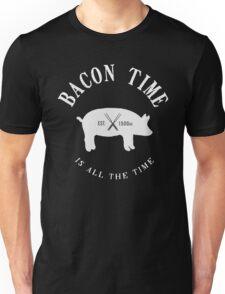 Bacon Time [White] Unisex T-Shirt