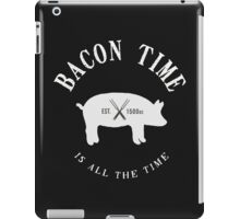 Bacon Time [White] iPad Case/Skin