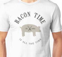 Bacon Time [Black] Unisex T-Shirt