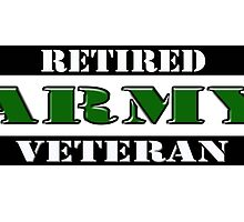 Retired Army Veteran by Buckwhite