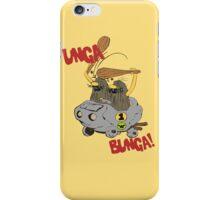 CAVEMAN Car : Unga Bunga version iPhone Case/Skin