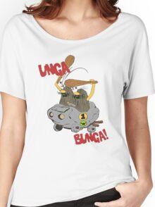 CAVEMAN Car : Unga Bunga version Women's Relaxed Fit T-Shirt