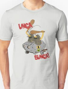 CAVEMAN Car : Unga Bunga version T-Shirt