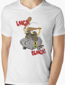 CAVEMAN Car : Unga Bunga version Mens V-Neck T-Shirt