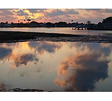 Double sky Photographic Print