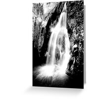 Waitui Falls Greeting Card