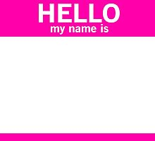 Nametag by fysham