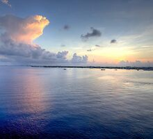 Grand Cayman HDR Sunrise by Jonathan Bartlett