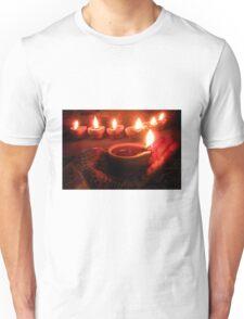 """ Divine diyas on Diwali ""  Unisex T-Shirt"
