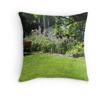 Turn of the Century Garden Throw Pillow